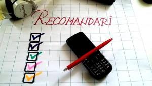 5 recomandari